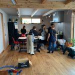 木の家の新居で料理教室!