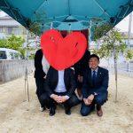 三篠にて地鎮祭でした!